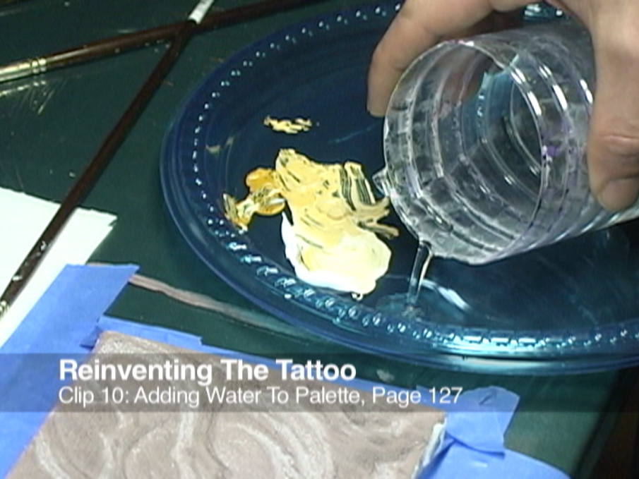 Clip 10 Adding Water To Palette