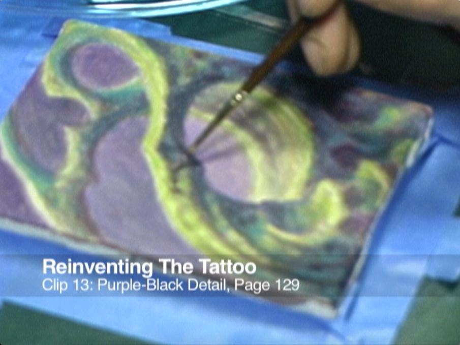 Clip 13 Purple Black Detail