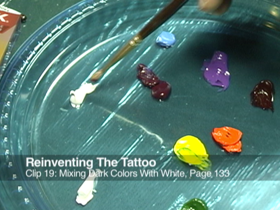 Clip 19 Mixing Dark Colors With White