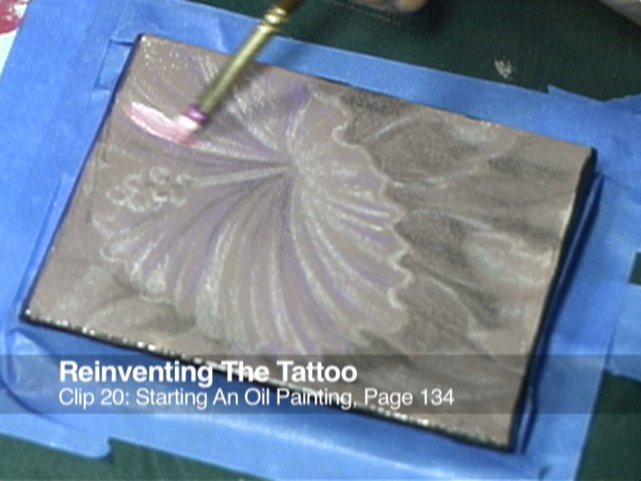 Clip 20 Starting An Oil Painting