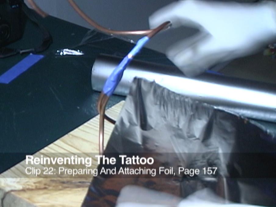 Clip 22 Preparing and Attaching Foil