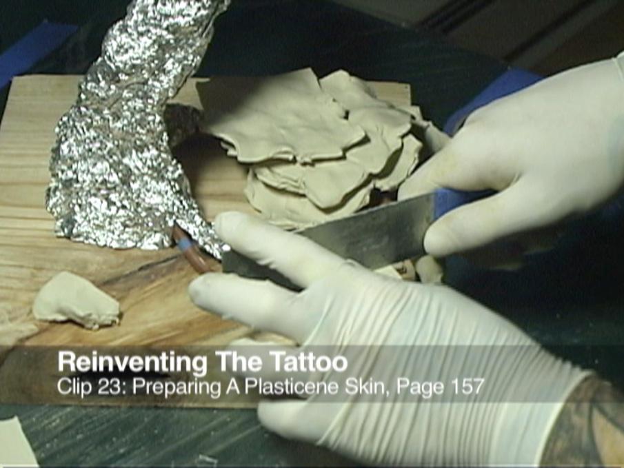 Clip 23 Preparing a Plasticene Skin