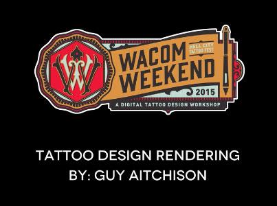 Digital Tattoo Design Tutorial