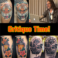 Online Tattoo Critique by Guy Aitchison group pack